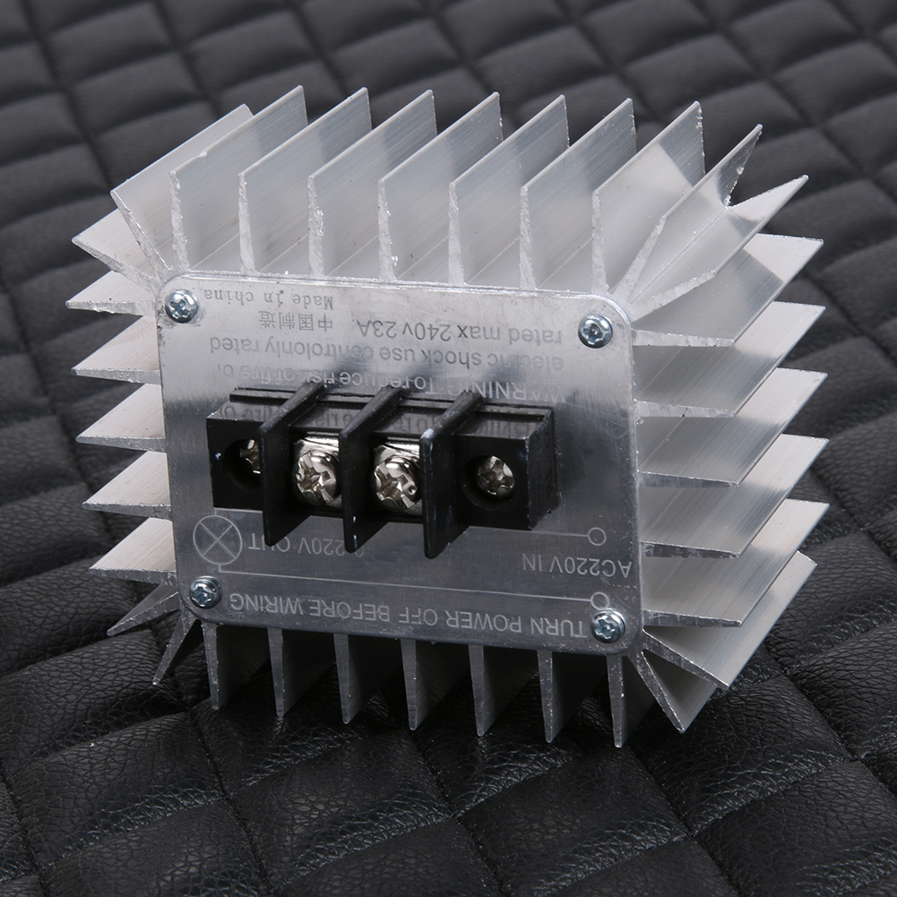 Ac 220v 5000w Scr Electronic Voltage Regulator Speed Temperature Dc Motor Stepless Governor Circuit Basiccircuit Notes This Product Is Not Suitable For All Bivycles Battery Charger Electric Appliances With On Off Switches Such As 110v