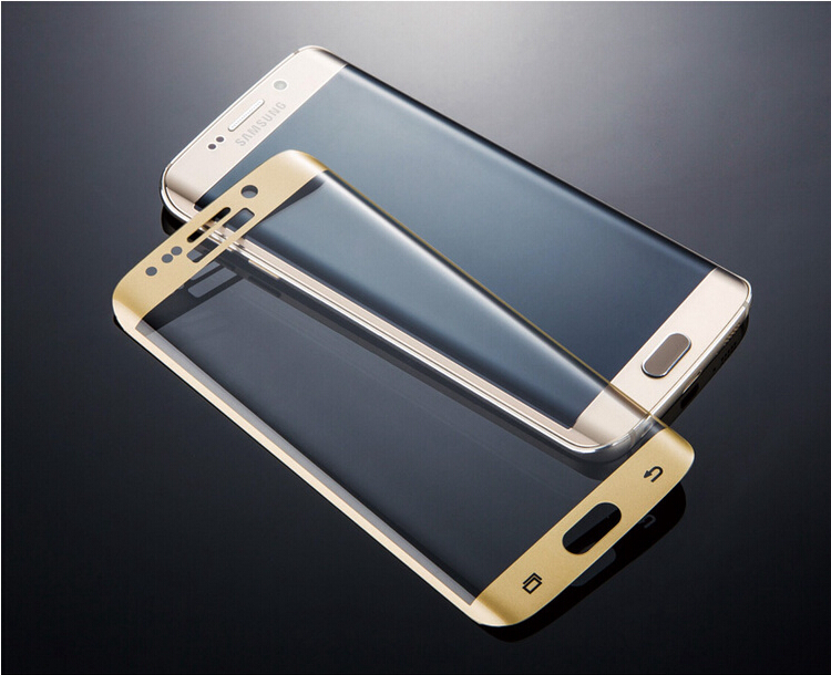 3D Tempered Glass on Samsung Galaxy S7 S7 Edge Screen Protector