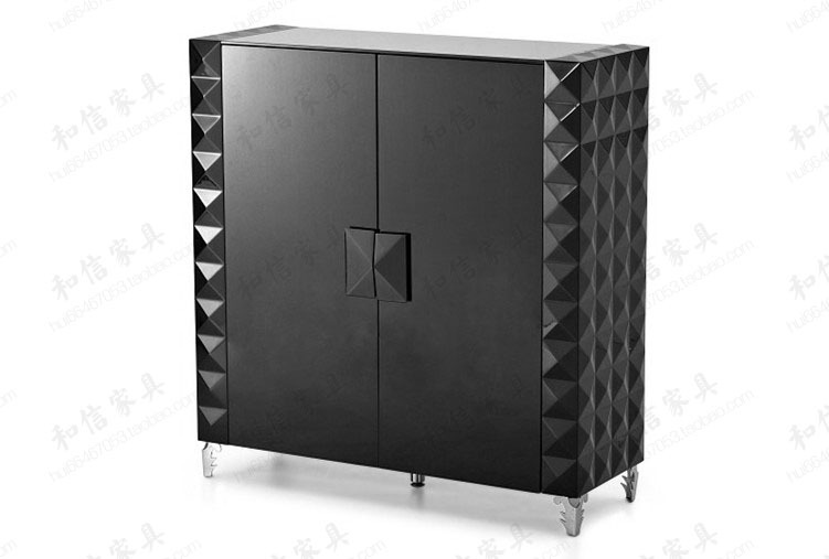 Credenza Moderna Ikea : Moderno design minimalista pianoforte vernice nera superficie