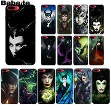 Babaite Maleficent Moive ฟิล์ม DIY Luxury High-end Protector สำหรับ iPhone 5 5Sx 6 7 7plus 8 8Plus X XS MAX XR(China)