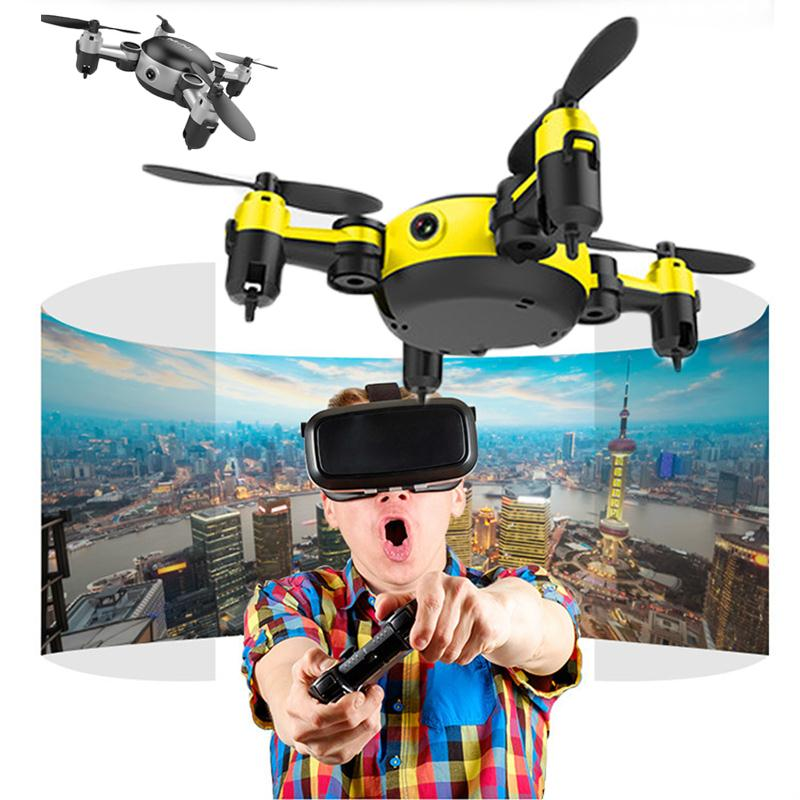 Quadrocopter Dron 2017 WiFi Pocket font b Drone b font 4CH 6Axis Gyro Quadcopter With Switchable