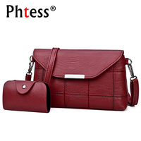 2017 Women Messenger Bags Small Crossbody Leather Shoulder Bags Female Ladies Clutch Luxury Sac A Main
