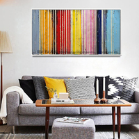 2017 Wall Pictures For Living Room Unframed Comics Tableau Decoration Murale Abstrait Hand Painted Canvas Oil