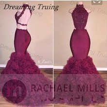 dreaming truing Chic Mermaid Prom Dress Evening Dresses