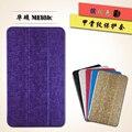 Inteligente PU del cuero del soporte cubierta para Asus MeMO Pad 8 ME181C ME181 K011 8.0 pulgadas tablet plegable Folio Case