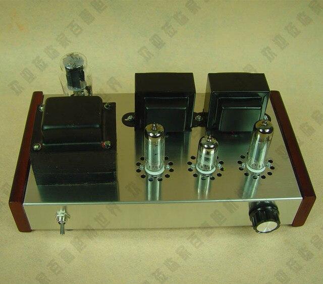 Nova moda 6P14 classe single-ended UM amplificador valvulado HIFI stereo  amplificador KIT DIY e90804cfee