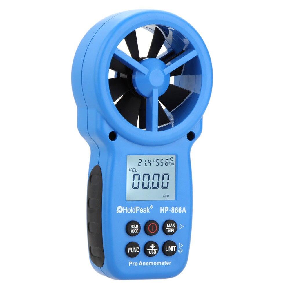 เครื่องวัดความเร็วลม รุ่น HP-866A