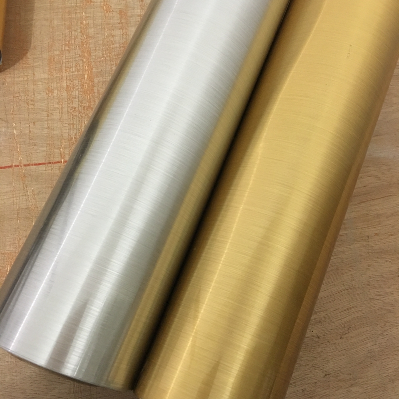 Купить с кэшбэком Wallpapers Youman 5/10M Golden Silver Gold Foil Waterproof Self Adhesive Reflective Film Mirror Metal Sticker 3D Wallpaper Decor