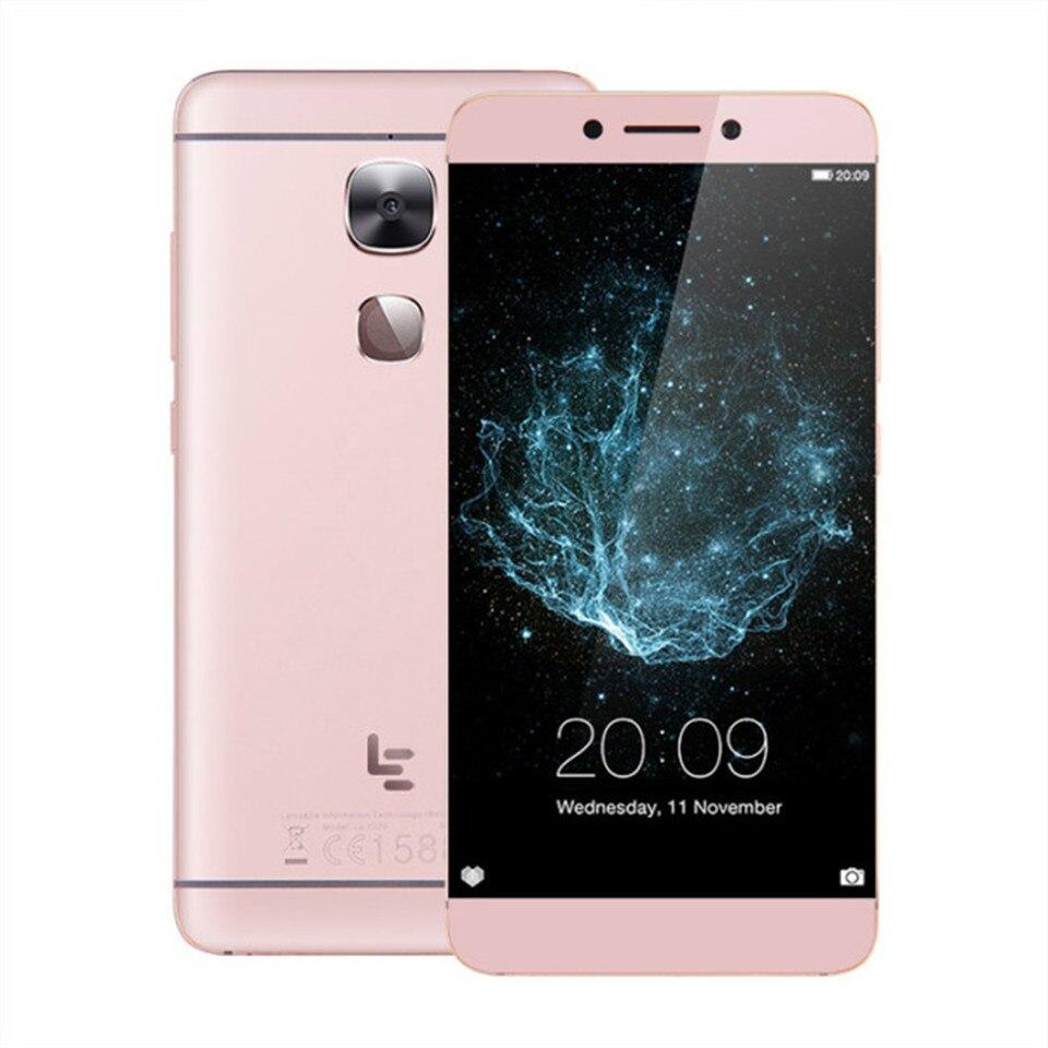 LeEco LeTV Le 64 3 2X526 GB de RAM GB ROM Snapdragon 652 1.8 GHz Núcleo octa 5.5 Polegada android 6.0 4G LTE Smartphones