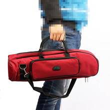 Homeland New Arrival 600D Waterproof Trumpet Bag 5mm Cotton Padded Oxford Cloth Adjustable Single Shoulder Strap Pocket
