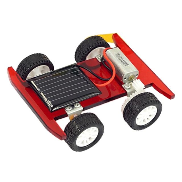 2 pcs Solar Power Mini Racing Car  3