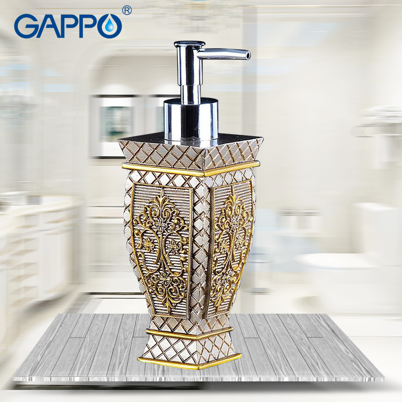 GAPPO liquid soap dispensers pump bottle imported resin Bottles Bath Bathroom accessories soap dispensers bottles фляга salewa 2015 bottles runner bottle 0 5 l прозрачно серая 2322 300