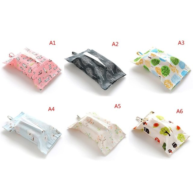 f6d4b062cca1 US $1.39 16% OFF|Eco friendly Tissue Boxes Wet Wipes Bag Clutch Clean Wipes  Carrying Case Clamshell Cosmetic Pouch Easy Snap strap Wipe Container-in ...
