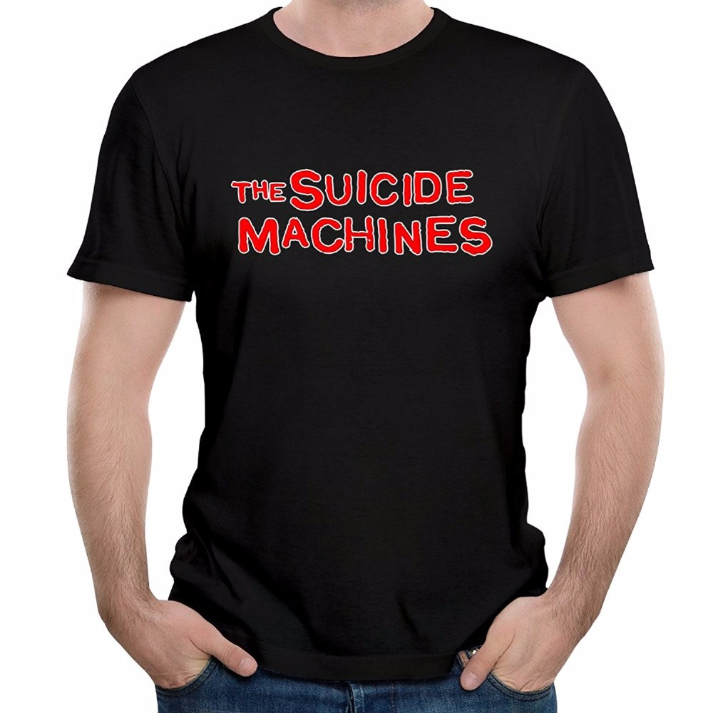 d6130caee98 Funny T Shirt Ideas Men s The Suicide Machines Rock Band New Girl Song T- Shirt