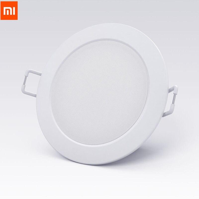 2018 Original Xiaomi mi jia inteligente Downlight Wifi trabajar con mi casa App control remoto blanco y cálido de luz inteligente luz de cambio