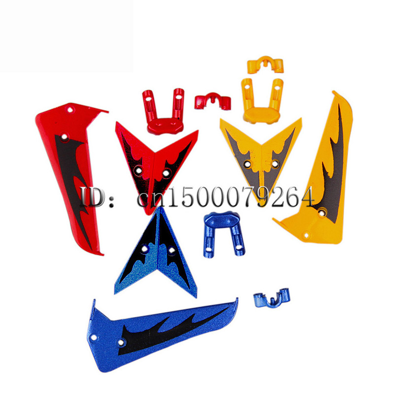 Wholesale + Free shipping 3 color S107G Syma S107G Tail decoration wing parts links mini remote control helicopter spare parts chamsgend best seller free shipping new full set replacement spare parts for syma s107 rc helicopter red mar11 wholesale
