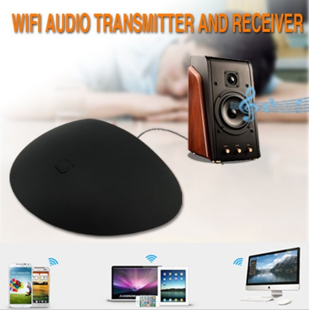 AudioCast P2 Wireless Speaker Airplay DLNA Music Receiver iOS Android Airmusic WIFI HiFi Audio Speakers Spotify Sound Streamer