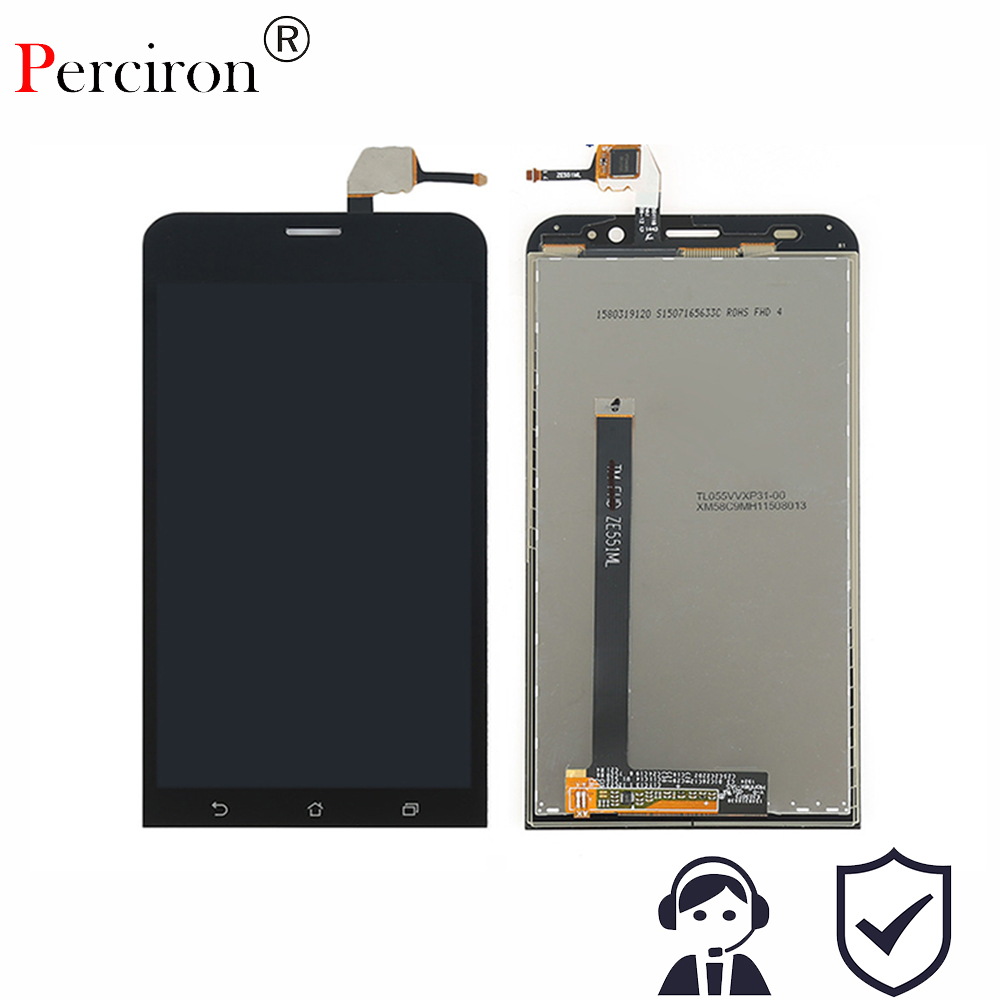 Original LCD Display + Touch Screen Digitizer Assembly for Asus Zenfone 2 ZE550ML ZE551ML ZE500KL ZE550KL ZE500CL Free Shipping black full lcd display touch screen digitizer replacement for asus transformer book t100h free shipping
