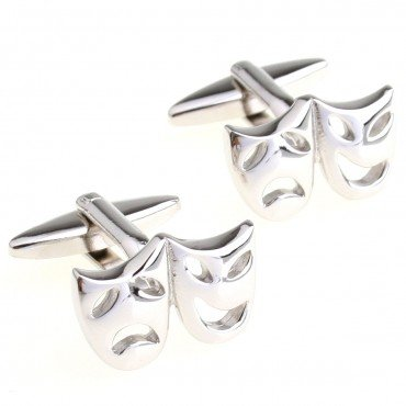 Mask Cufflink 15 pairs Wholesale Free Shipping