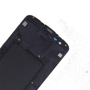 Image 4 - العلامة التجارية الجديدة ل LG K8 LTE K350 K350N K350E K350DS شاشة الكريستال السائل مجموعة المحولات الرقمية لشاشة تعمل بلمس استبدال مع الإطار طقم تصليح