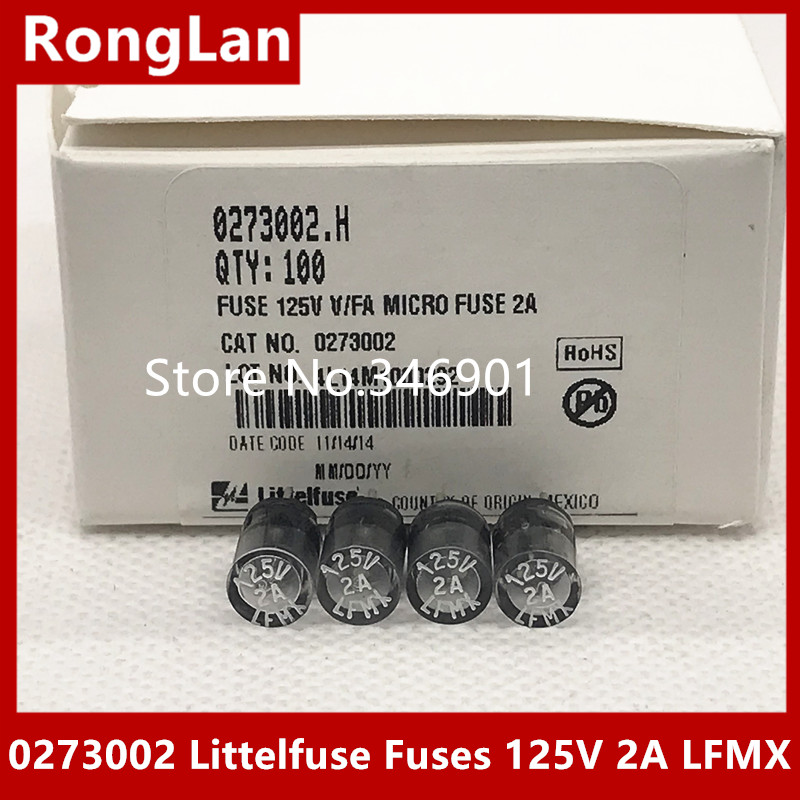 Sa Us Special Forces 0273002 Littelfuse Fuses 125v 2a