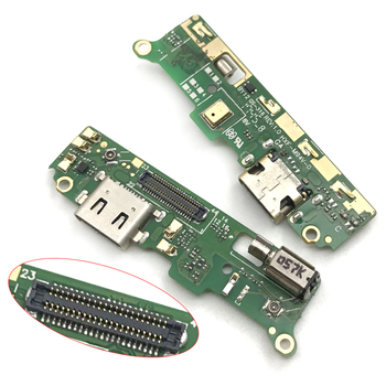 10pcs/lots For Sony Xperia XA2 H3113 H4113 Replacement USB Charging Port Micro Dock Connector Board Flex Cable With Vibrator