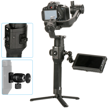 Camera Mounting Plate for DJI Ronin S, Nato Rail Arri Locating Holes 14 Thread Holes for Magic Arm HandleMonitorMicrophone laptop bag