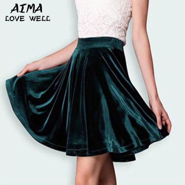 Mujeres de la manera plisada mini faldas vendaje alta cintura vaciado faldas de seda vintage casual estiramiento de la falda de otoño de la alta calidad