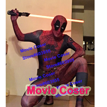 YOY-ZENTAI High Quality Custom Made Hero Spider-Man Suit Mixed Deadpool Costume Hero Costume