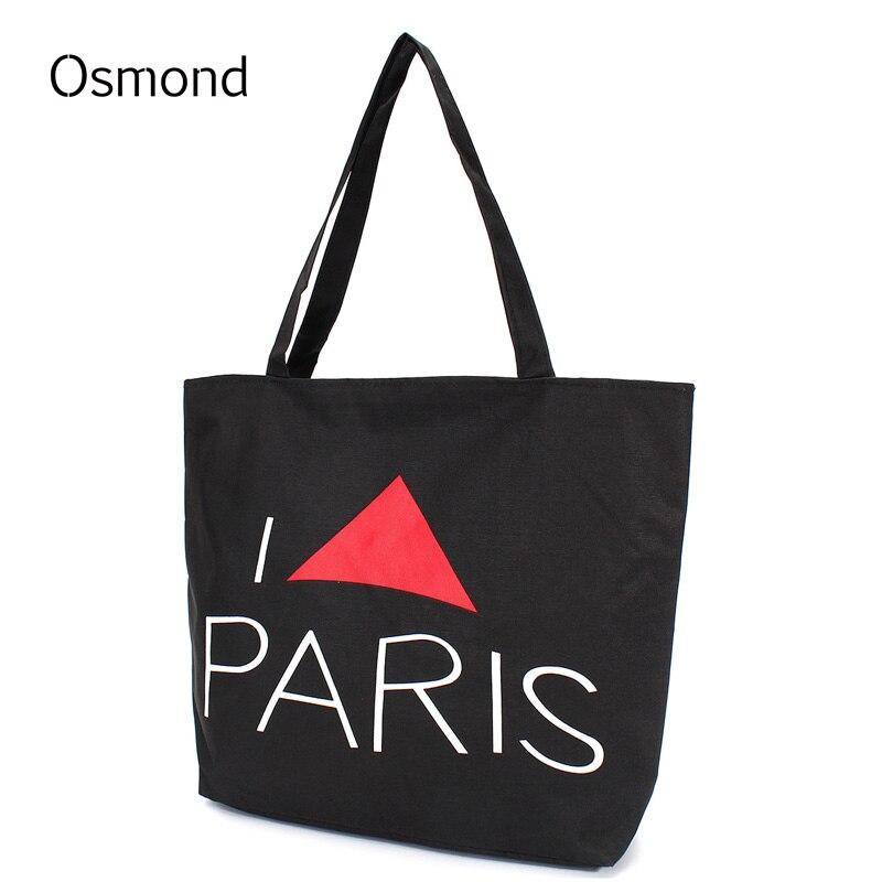 Osmond Canvas Handbag <b>Large Capacity</b> Shopping <b>Bag</b> Travel ...