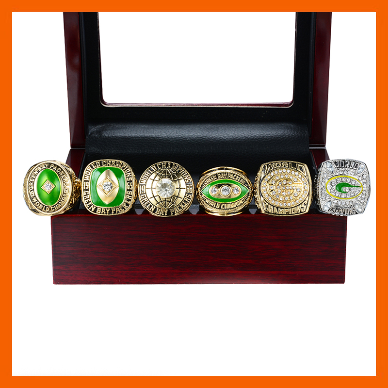 NEW SUPER HIGH QUALITY 1961 1965 1966 1967 1996 2010 GREEN BAY PACKERS CHAMPIONSHIP RING 6
