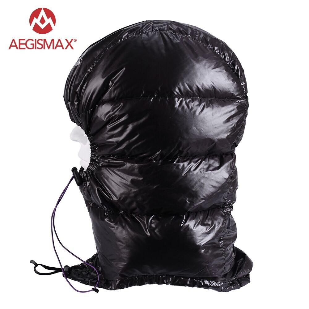 AEGISMAX гусиный пух конверт спальный мешок для улицы Urltra-Light Hat
