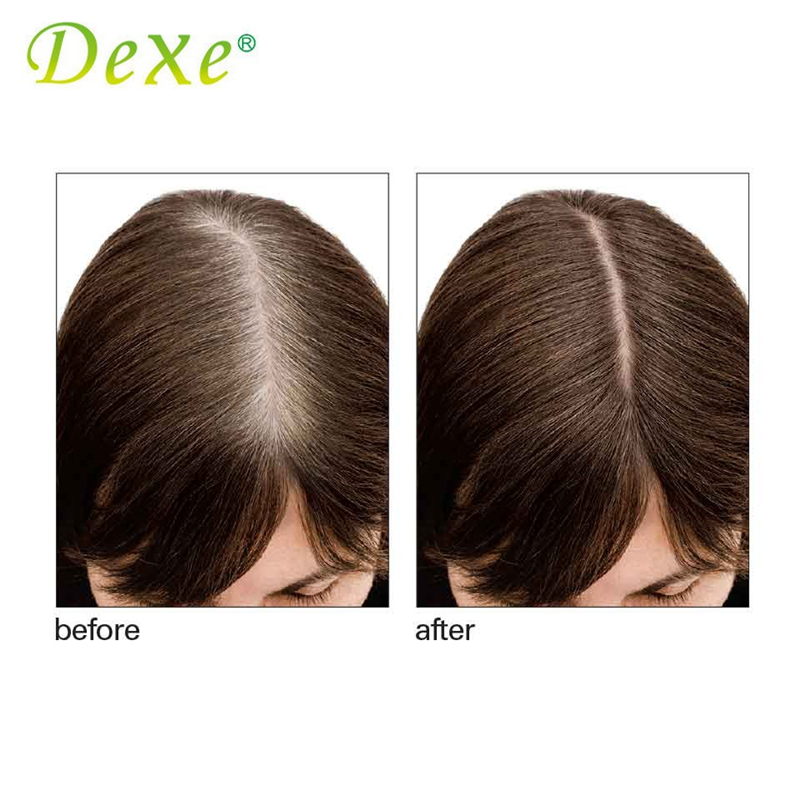 Dexe Hair Coloring Products Crayon Cover Gray Hair Root Cover Up ...