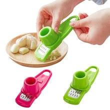 Пластиковый пресс для чеснока, имбиря, чеснока, перца, терка для измельчения чеснока, рубанок, слайсер, инструмент для измельчения чеснока, кухонные аксессуары