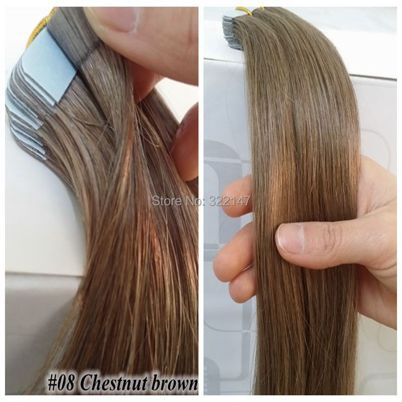 Online shop 20 piecespack tape in hair extensions skin weft hair online shop 20 piecespack tape in hair extensions skin weft hair extensions 04 medium brown free shipping tape hair extensions 22inch 55cm aliexpress pmusecretfo Images