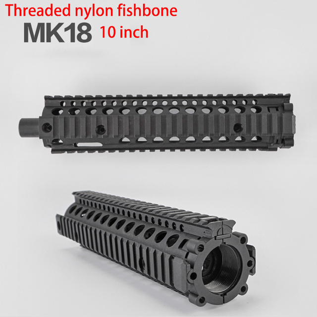 US $19 99 |Bingfeng mk18 nylon fishbone m4 electric water bullet gun toy  accessories gel blaster nylon fishbone original factory T33-in Toy Guns  from