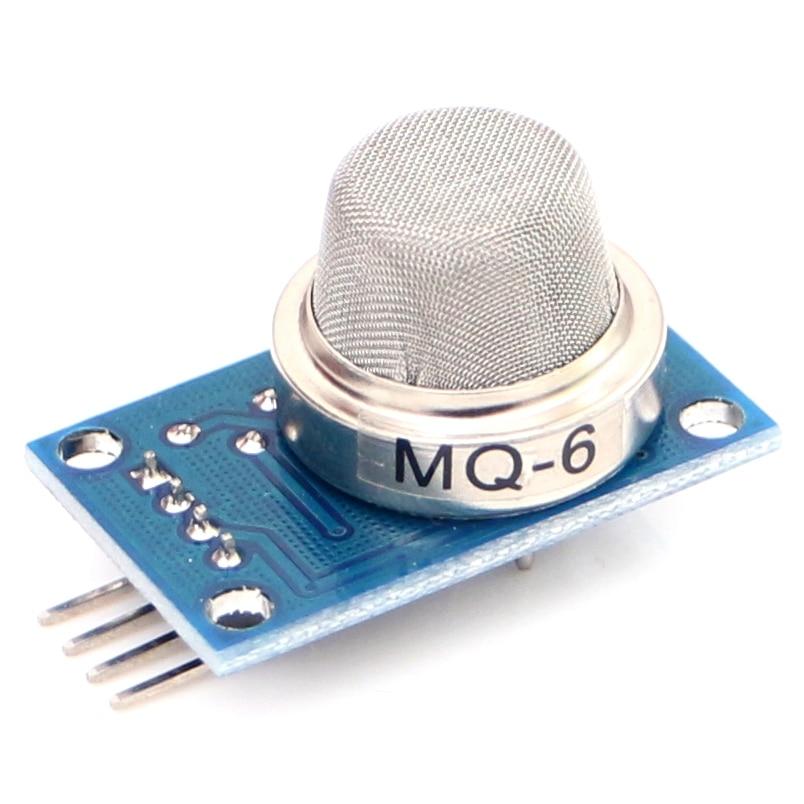 10pcs/lot MQ-6 DC 5V Gas Sensor Module