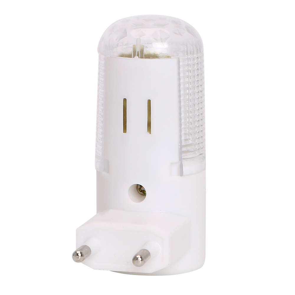 US//EU Plug LED Wall Mounted Plug-in Emergency Night Light Home 3W Bedside Lamp
