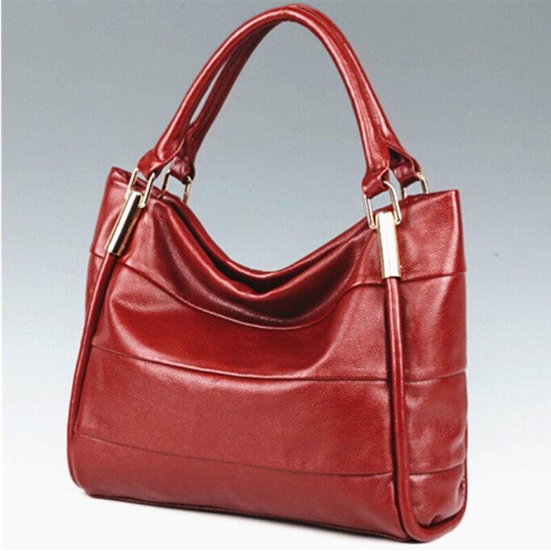 de couro genuíno bolsas tote Estilo : Fashion