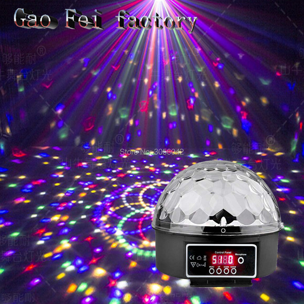RGB led Stage Effect Light Crystal Auto Sound Magic Ball Disco Lighting shower laser Projector party DJ club elf Lamp DigitalRGB led Stage Effect Light Crystal Auto Sound Magic Ball Disco Lighting shower laser Projector party DJ club elf Lamp Digital