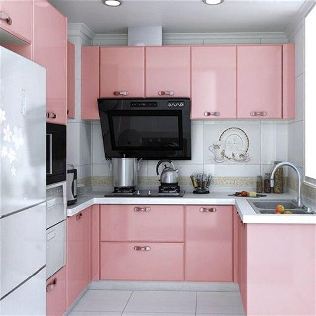 Kitchen Cabinet Wallpaper: Beibehang Pearl Decorative Film PVC Self Adhesive Wall