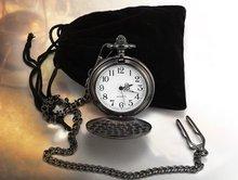 1939 antiguo reloj Llanura Pulido Reloj Negro Antiguo Hombres freeship del Reloj de Bolsillo