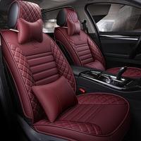 На свой вкус авто аксессуары роскошный автомобиль чехлы на сиденья кожа подушки для JAC K5/3 iev b15 A13 RS уточнить s3 s2 s5 Бесплатная доставка