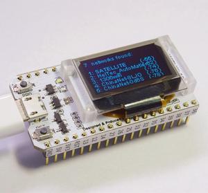 "Image 2 - ESP32 Bluetooth WIFI Kit 0.96"" OLED Display Module CP2102 32M Flash IOT Internet Development Board 3.3V 5V DC"