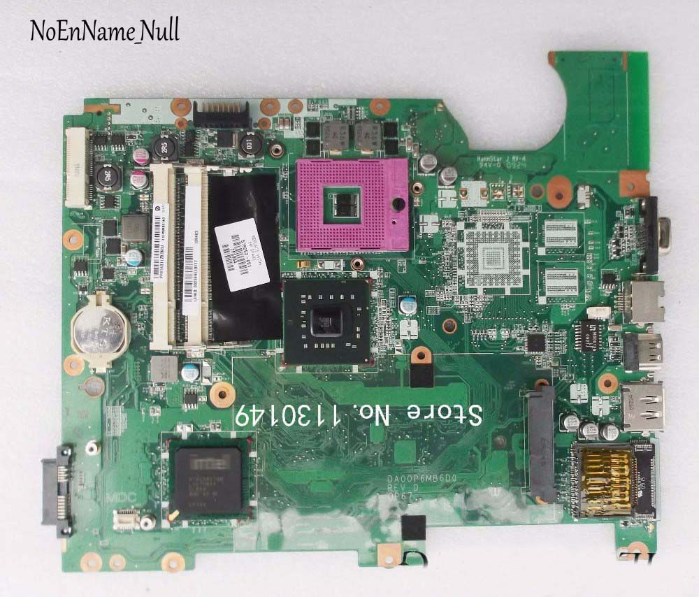 Free Shipping Original 578052-001 Laptop Motherboard For HP G71 CQ71 Motherboard DA00P6MB6D0 DDR2 GL40 100% Tested Well