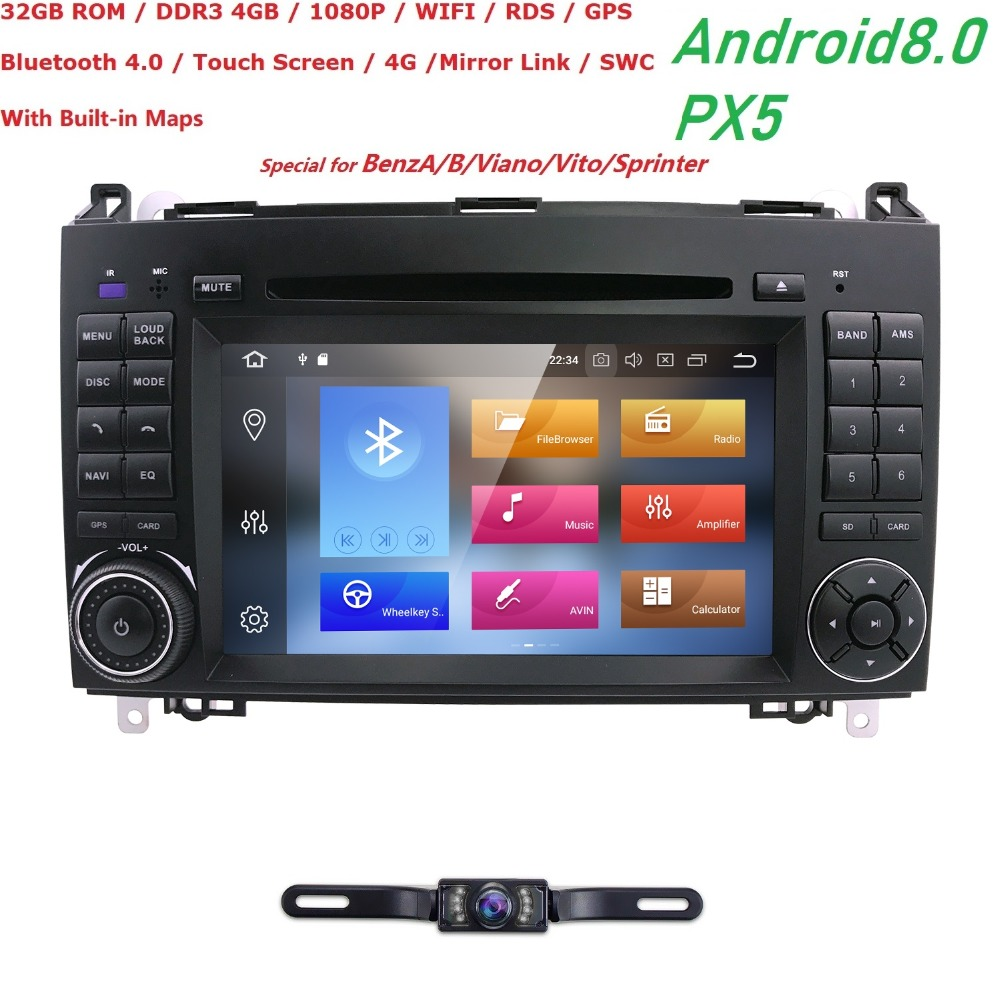 FreeShipping Car dvd player radio audio For Mercedes Benz Sprinter A class B200 Vito Viano W169 W245 W469 W906 with GPS navi SWC