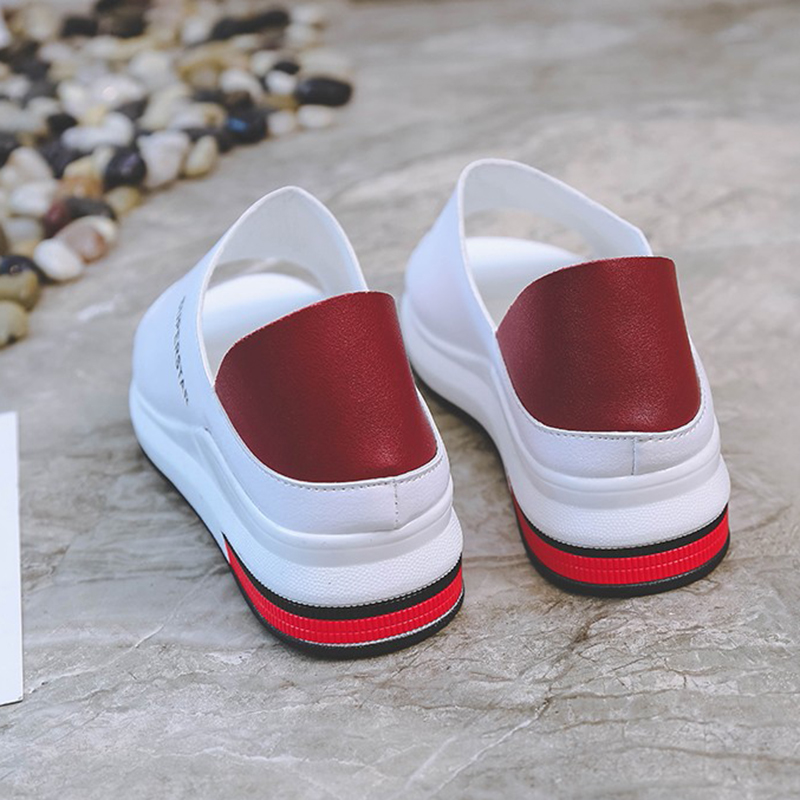 2019 New Fashion Women Sandals Summer Platform Sandal Shoes Woman Peep Toe Leather Beach Flat Casual 2019 New Fashion Women Sandals Summer Platform Sandal Shoes Woman Peep Toe Leather Beach Flat Casual Sandalias Mujer Plus Size