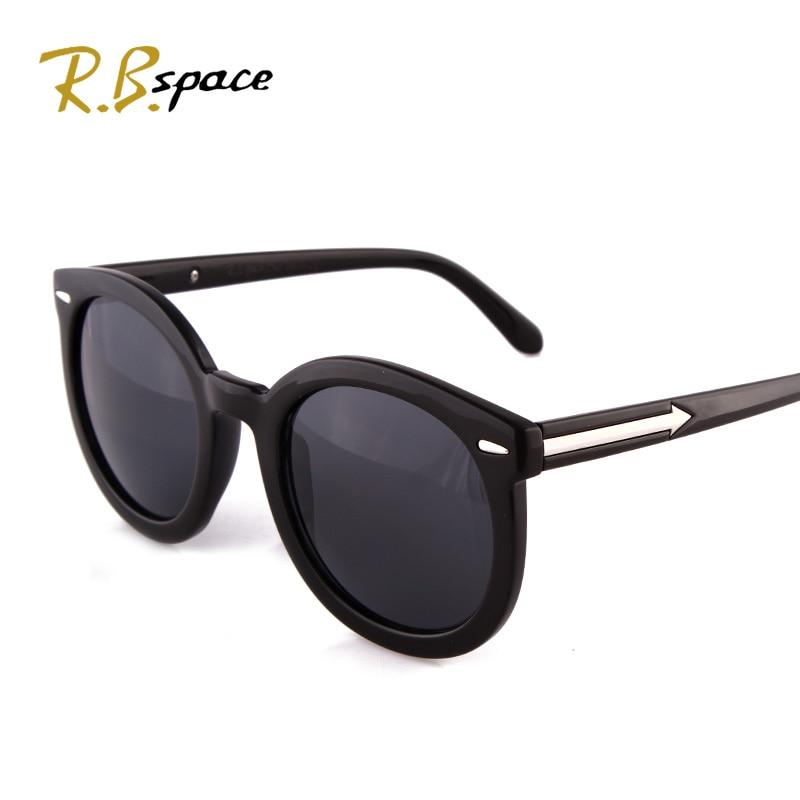 New 2016 fashion vintage Big Lenses brand design Metal sunglasses man Luxury retro womens round sun glasses gafas oculos de sol