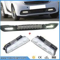 Araba Styling İyi kalite AKıLLı LED DRL 2011-2014 için led sis lambası LED Gündüz çalışan ışık