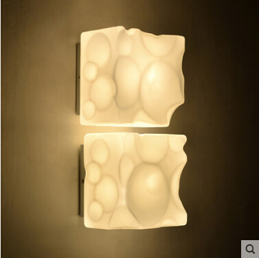 Free shipping European style Milk glass wall lamp suitable for home useFree shipping European style Milk glass wall lamp suitable for home use
